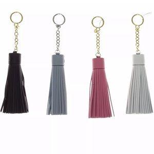 Set of 5 Michael Kors Tassel Keychain Handbag